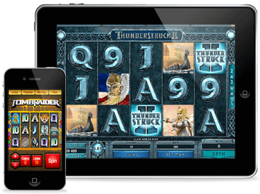 Play Pokies on your mobile, iphone, ipad or other device